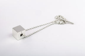 Cube Necklace (20mm, PA)