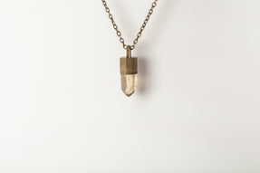 Talisman Necklace (Smoky Quartz, DA+SQ)