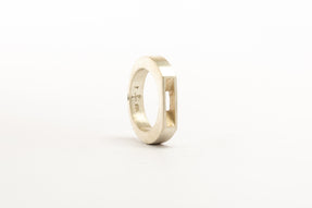 Crescent Plane Gateway Ring (4mm, MA)