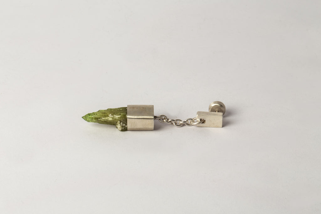 Talisman Dangle Earring (Vesuvianite, MA+VES)
