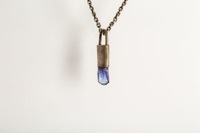 Talisman Necklace SPECIMEN (Tanzanite, DA+TAN)