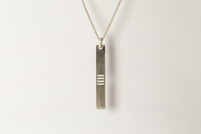 Plate Necklace (4-Bar Punchout, MA)