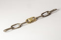 Roman Medium Link Bracelet w/ Medium Closed Link (Fuse, DA18K)