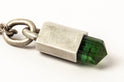 Talisman Necklace SPECIMEN (Cast Sheath, Linked, Green Tourmaline, DA+GTO)