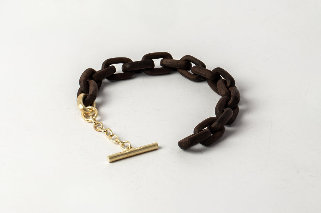 Toggle Chain Bracelet (Extra Small Links, TU+AG)