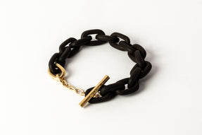 Toggle Chain Bracelet (Extra Small Links, KU+AG)