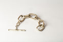 Roman Toggle Chain Bracelet (Small Links, Mega-Pave, MA+DIA)