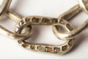Roman Toggle Chain Bracelet (Small Links, Mega Pave, MA+DIA)