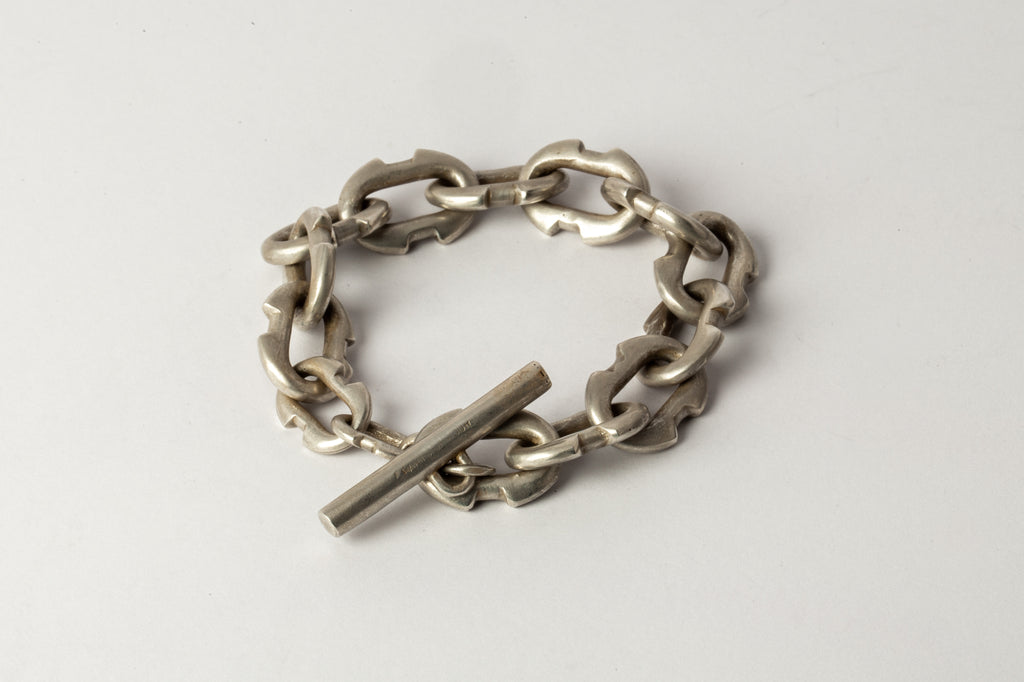 Deco Link Toggle Chain Bracelet (XS Links, AS)