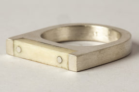 Plate Ring Single (4mm, MA+B)
