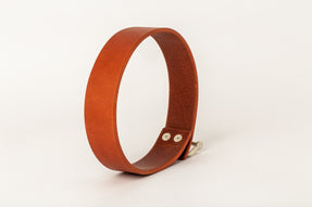 Leather Charm Choker (30mm, ALE+MA)