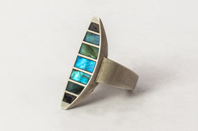 Crescent Ring (Radiant Expansion, Hathor Inlay, DA+LAB)