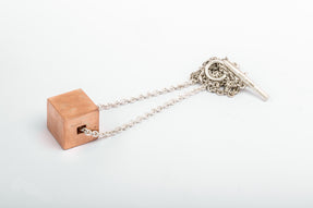 Cube Necklace (20mm, AM+MA)