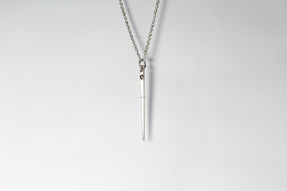 Spike Necklace (0.3 CT, Chunky Diamond Slab, PA+DIA)