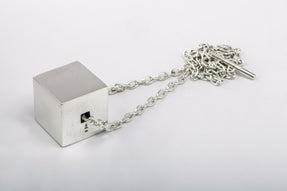 Cube Necklace (32mm, PA)