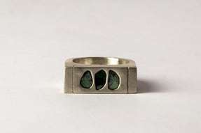 Roman Ring (0.4 CT, 2-Stone, MA+DIA)