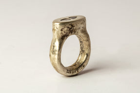 Roman Ring (0.4 CT, 2 Diamond Slabs, MA+DIA)