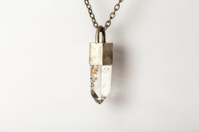 Talisman Necklace (Inclusion Quartz, DA+Q)