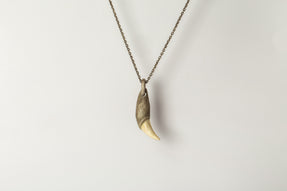 Bear Tooth Necklace Ghost Hybrid (Small, DA+B)