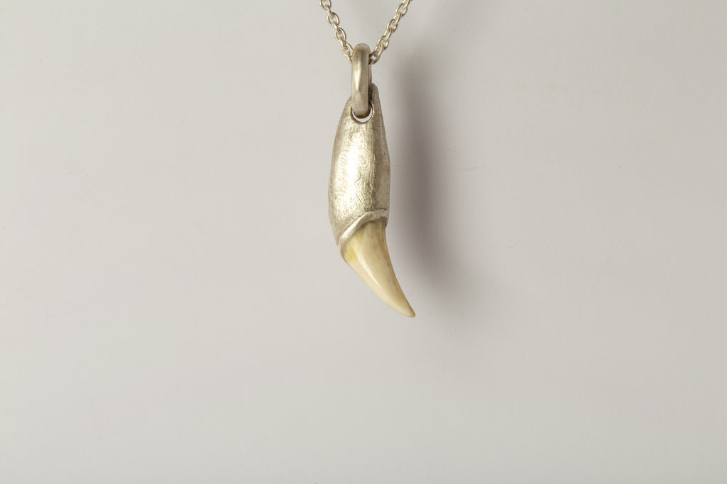 Bear Tooth Necklace Ghost Hybrid (Small, MA+B)