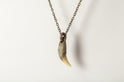 Bear Tooth Necklace Ghost Hybrid (Large, DA+B)