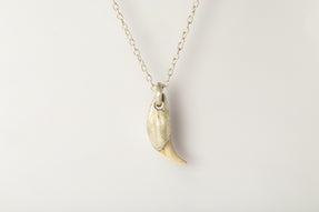 Bear Tooth Necklace Ghost Hybrid (Large, MA+B)