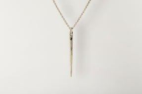 Spike Necklace (0.3 CT, Single CHUNKY-Stone, MA+DIA)