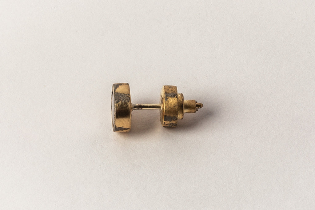 Tiny Stud Earring (0.1 CT, 1-stone, AG+DIA)