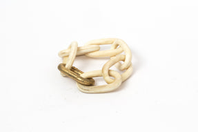 Infinity Chain Bracelet (Medium Links, B+AG)