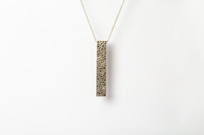 Wedge Necklace v2 (Mega Pavé, MA+DIA)