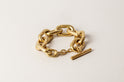 Toggle Chain Bracelet (Small Links, AG)
