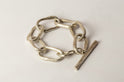 Roman Toggle Chain Bracelet (Small Links, MA)