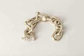 Charm Bracelet (Small Links, U-Bolt Chain Variant, MA)