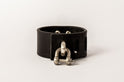 Restraint Charm Bracelet (Inverted Pyramid Studs, 30mm, BLK+Z)