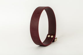 Leather Charm Choker (30mm, WIN+MA)