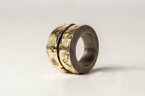 Crevice Ring v2 (Wide, DA18K)