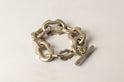 Deco Link Toggle Chain Bracelet (Small Links, AS)