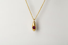Chrysalis Single Set (3.2 CT Ruby Slab, AGA+RUS)