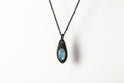 Chrysalis Necklace (Cremaster Emergence, Rainbow Moonstone, KA+RMS)