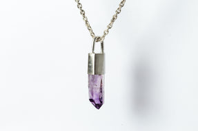 Talisman Necklace (Amethyst, MA+AME)