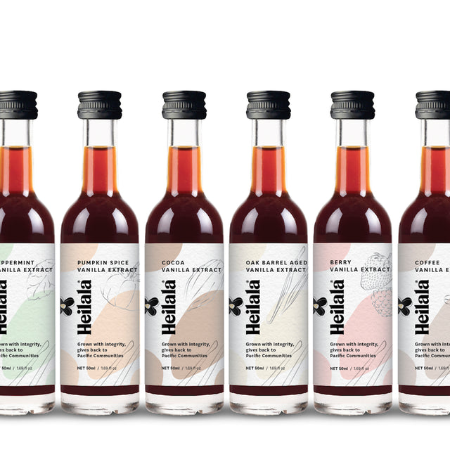 NEW EXCLUSIVE Flavoured Vanilla Extract Set (6 Pack)