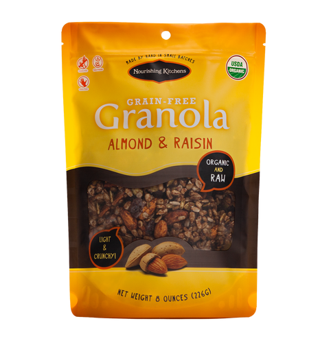 Organic Almond & Raisin Grain Free Granola