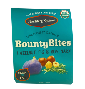 Organic Oregon Hazelnuts with Rosemary and Fig, Irresistibly Oregon!