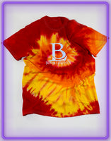 Born Legends Limited Edition 3m Reflective Tie-Dye Red and Yellow T-Shirt