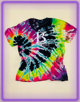 Born Legends Limited Edition 3m Reflective Tie-Dye Multi-Color T-Shirt