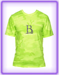 Born Legends Dri-FIT 3M Reflective Camo Neon Green Shirts