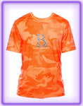 Born Legends Dri-FIT 3M Reflective Camo Neon Orange Shirts