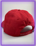 Born Legends 3M Reflective Performance Red Cap