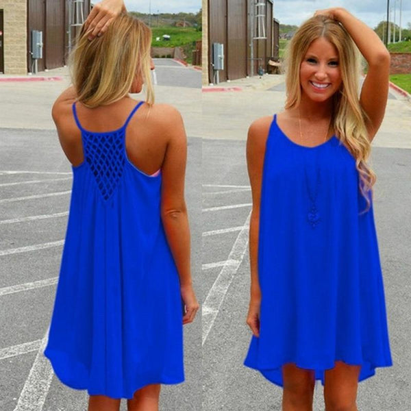 Women's Woven Back Dress