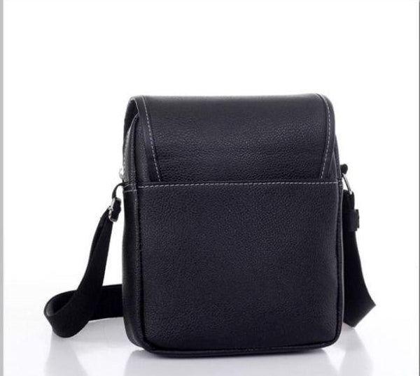 Men's Black  Messenger Bag